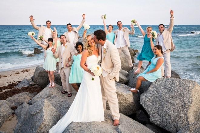 Organiza tu boda en la playa