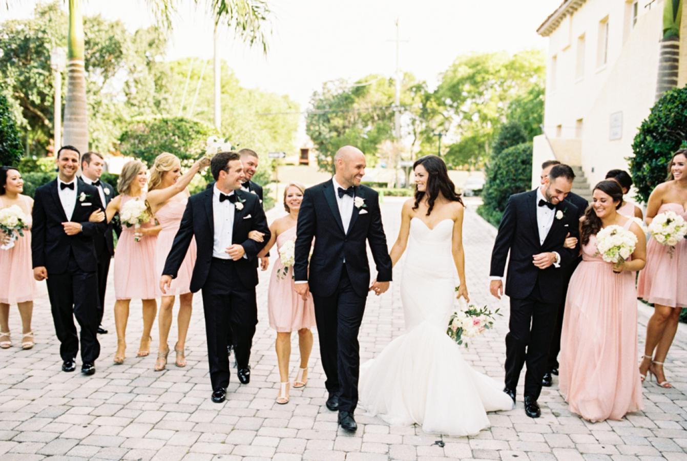 Los padrinos de boda
