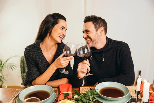Cada quien con su cada cual... seleccionando los vinos de mesa...