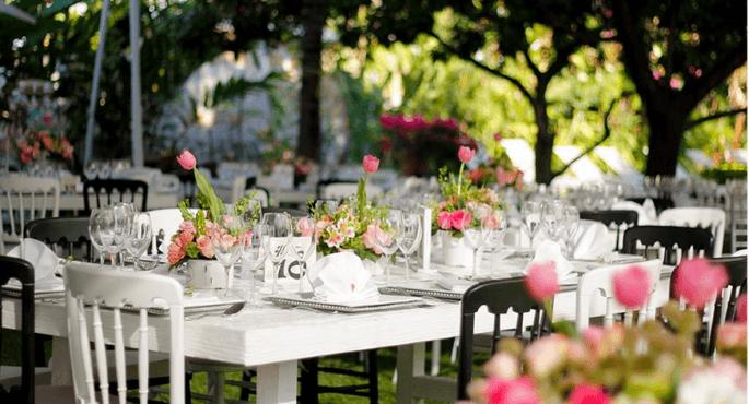 Cómo planear el menú para tu boda de civil.