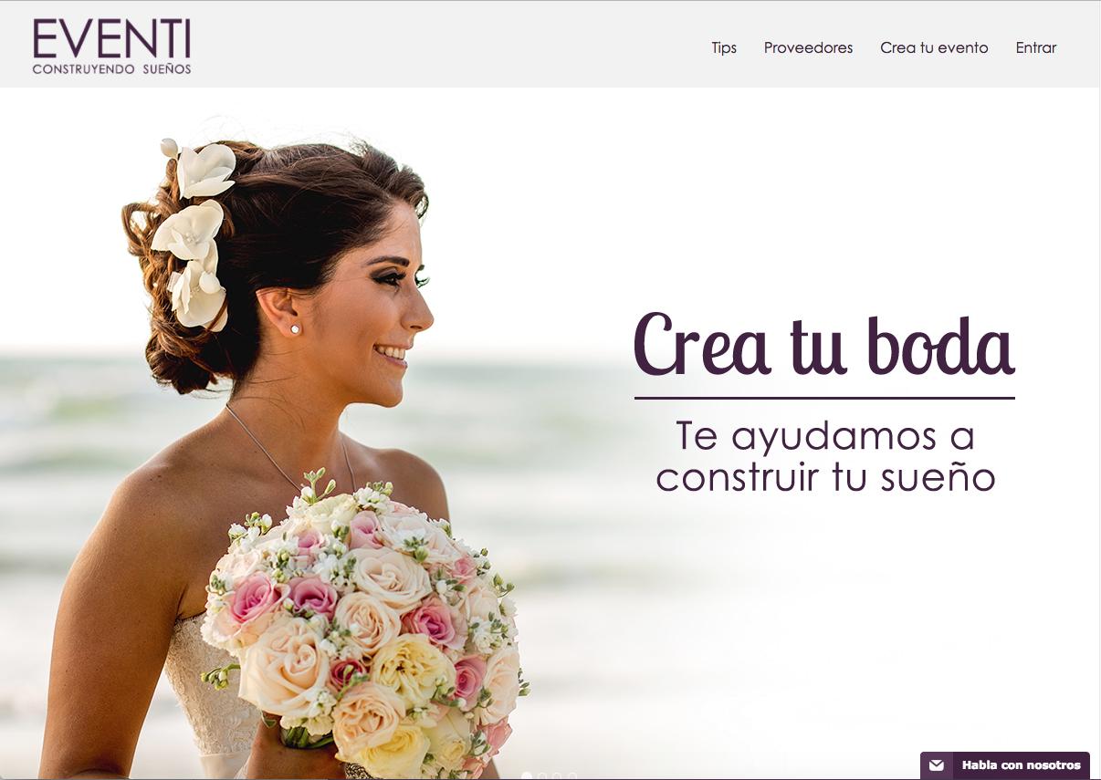 ¡Comienza a Organizar tu boda desde tu smartphone! Descarga nuestra App Eventi