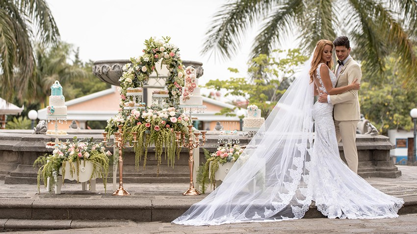 Tendencia para bodas 2018.