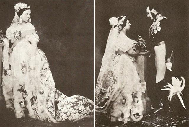 ¿Por qué la tradición del vestido blanco en las bodas?