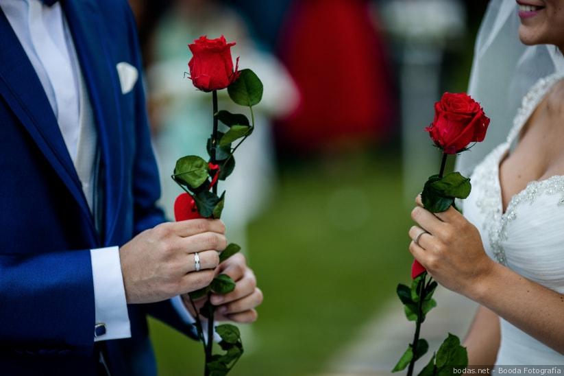 Ceremonia de la rosa.