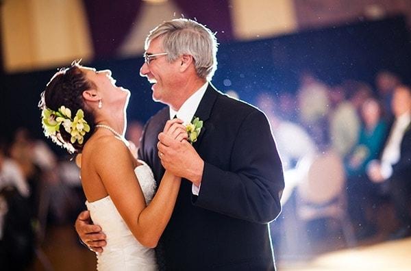 El padre de la novia y su rol.